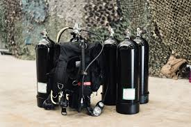 scuba air tanks